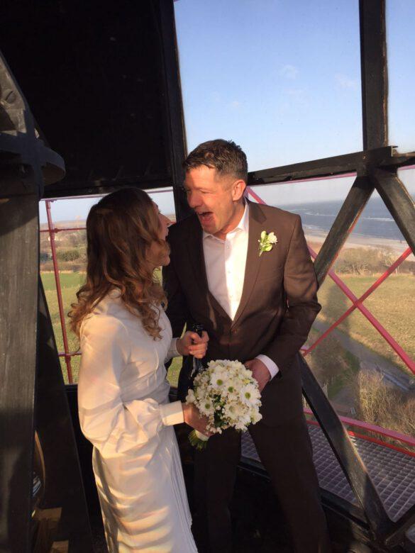 Hochzeitsblumenbraut