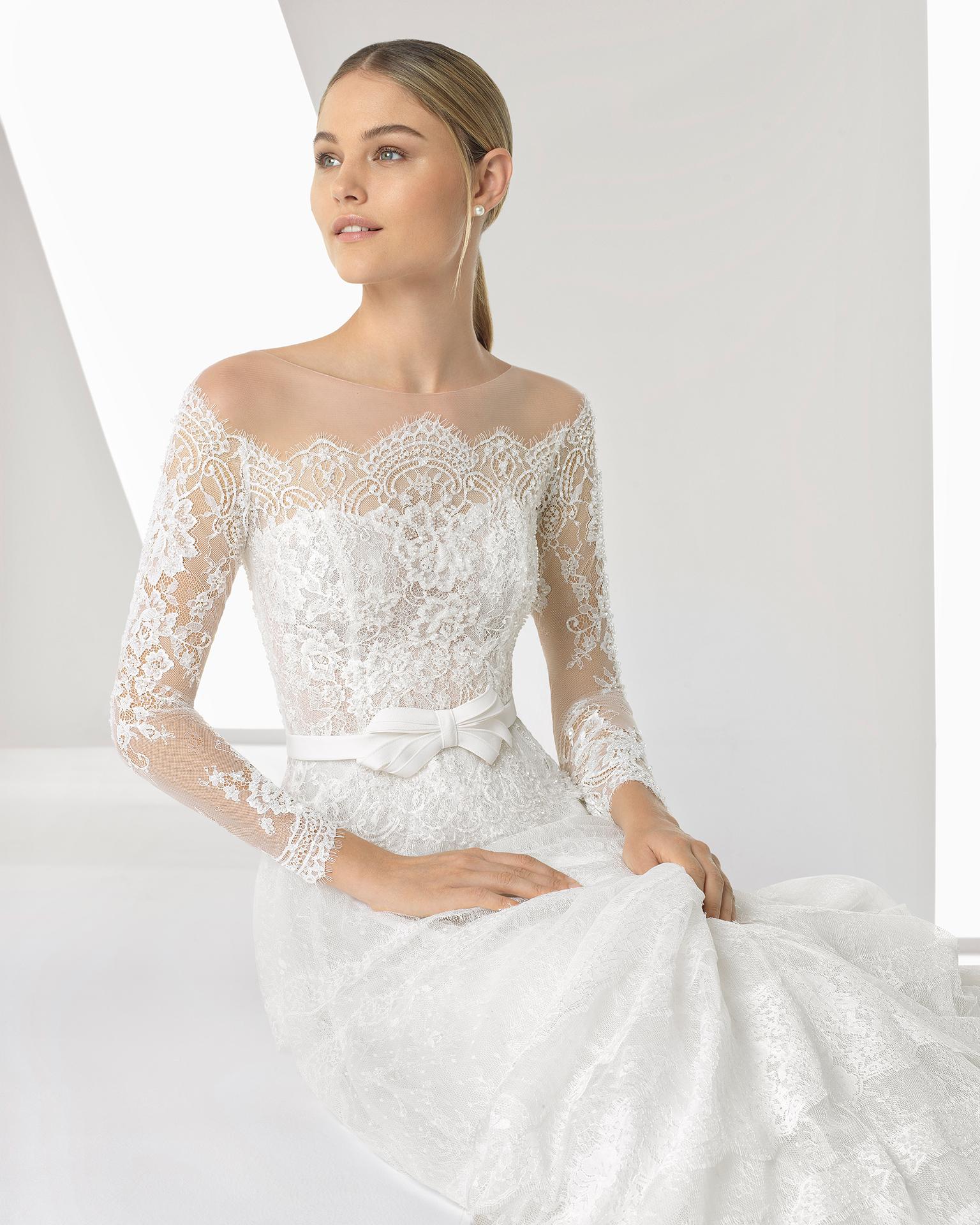 Brautkleid Brautmode Hochzeitskleid Hochzeitsblume Hannover Langarm