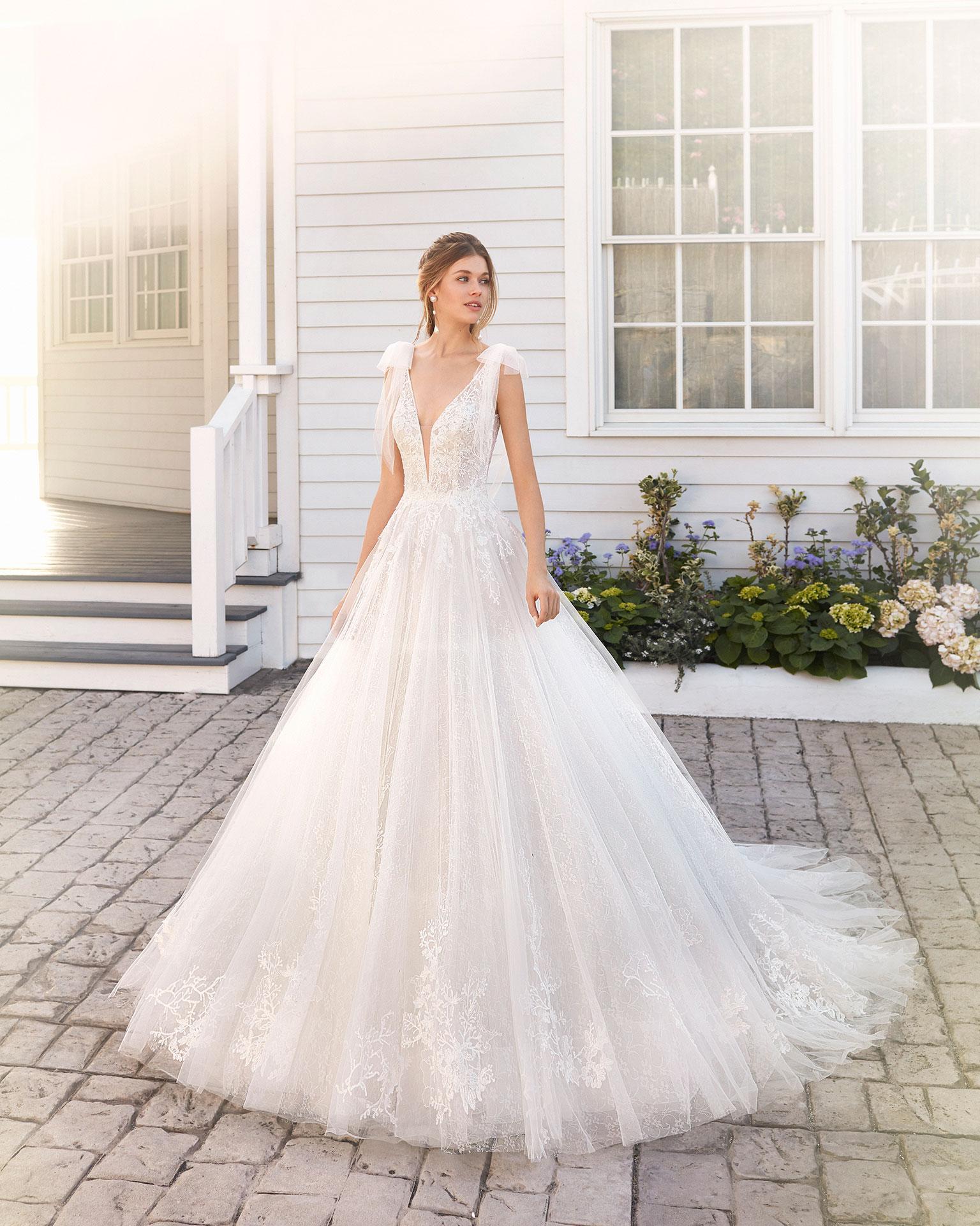 Brautkleid Hochzeitskleid Peine Hochzeitsblume romantisches