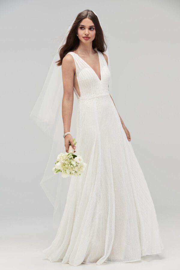 Vintage Brautkleid 20er Jahre Hochzeitskleid