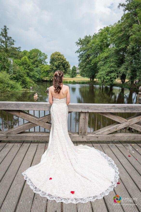 Echte Braut Hochzeit