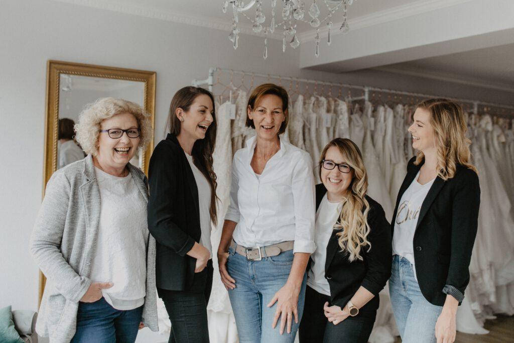 Hochzeitsblume Team Bautberaterinnen