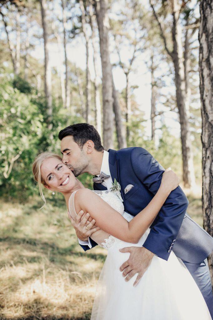 Hochzeitsbild Brautpaar Hochzeitsblume Braut Erfahrung Wolfenbuettel