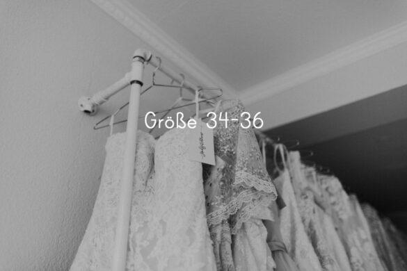 Brautkleider im Sale größe 34-36