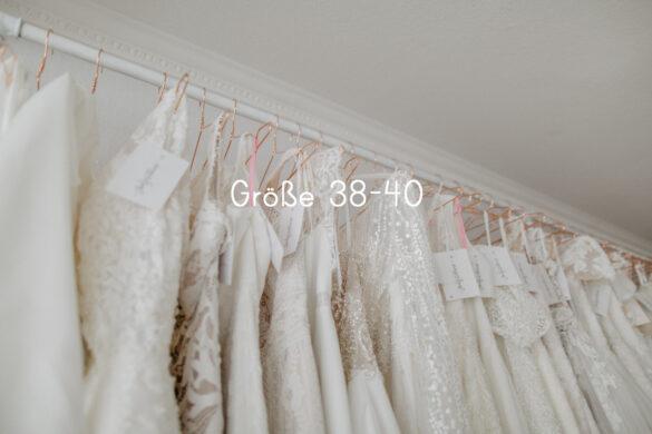 Brautkleider im Outlet Größe 38-40